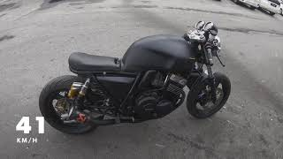 Cafe Racer Honda CB400 Modification