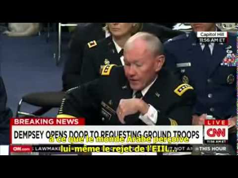 General Martin E. Dempsey know some arab allies who fund the ISIS