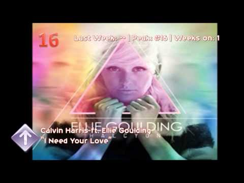 Billboard Top 25 Dance/Electronic Songs (1/26/13)