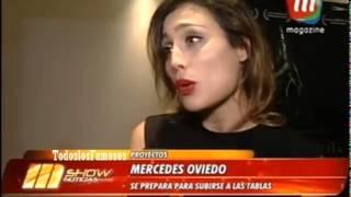 Mshow-Mercedes Oviedo se prepara para subirse a las tablas