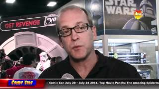 San Diego Comic Con (Comic Vibe Part 6) - Booth Interviews (Saturday)