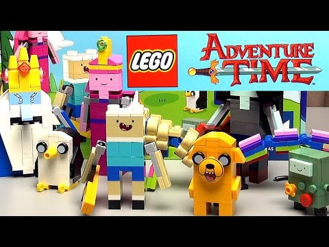 LEGO Ideas 21308 Время приключений Обзор набора