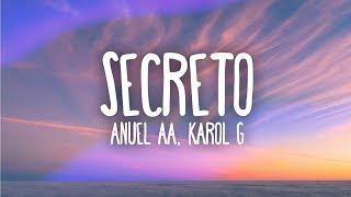 Anuel AA, Karol G - Secreto (Letra / Lyrics)