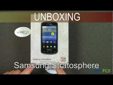 Samsung Stratosphere Unboxing