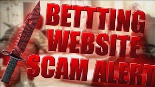 CSGO GAMBLING WEBSITE SCAM (CSGO SCAM ALERT)