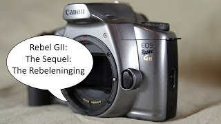 Introduction to the Canon EOS Rebel GII (Video 1 of 2)