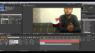 After effects Track Motion video hareketi