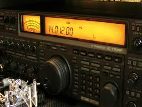 Icom IC 775 DSP in cw mode