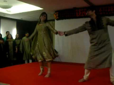 Amazing zubi zubi dance by Ketaki and Rocky.MOV