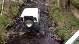 Land rover Series 2 off road