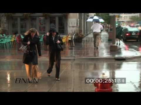 10/1/2009 Heavy Rain Video in Minneapolis, MN