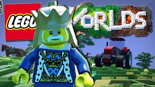 Lego Worlds | MEETING A KING!! [#6]
