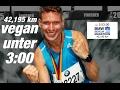Vegan den Marathon unter 3:00 Stunden