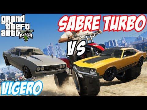 GTA 5 - Sabre Turbo Vs Vigero | #13 (GTA V)