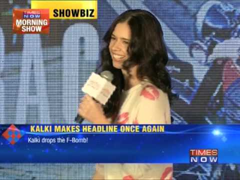 Kalki Koechlin drops the F-bomb