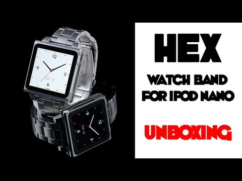 iPod Nano Watch With Hex Metal Band [Unboxing]
