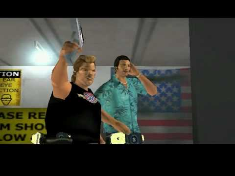 GTA: Vice City CUTSCENE [053] The Shootist