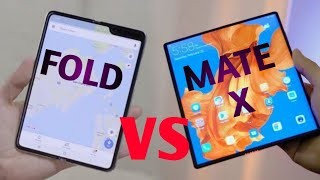 Huawei Mate X vs Galaxy Fold - which is better For You?