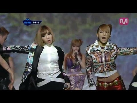 2NE1_I Love You(I Love You by 2NE1 @Mcountdown 2012.07.19)