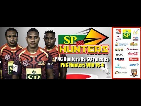SC FALCONS VS PNG HUNTERS (RD 8 INTRUST SUPER CUP 2014)
