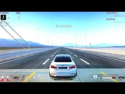 GT6 - 2014 BMW M4 Coupé Top Speed & Acceleration Test