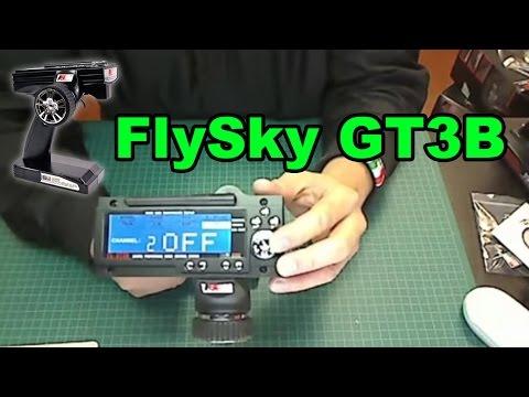 FlySky FS-GT3B 2.4ghz 3ch transmitter