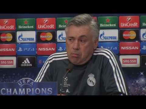 Carlo Ancelotti: Denken nicht an Jose Mourinhos Rekord | FC Basel - Real Madrid