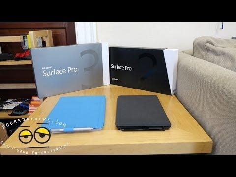 Battle Vid: Surface Pro 3 vs Surface Pro 2
