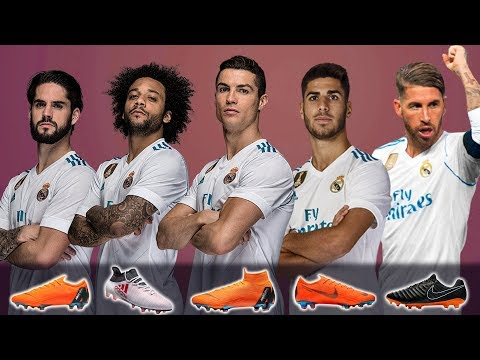 REAL MADRID - NEW FOOTBALL BOOTS & BEST LINEUP 2018