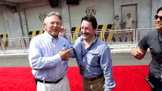 Peter Cullen & Frank Welker - Transformers Ride Red Carpet at Universal Orlando