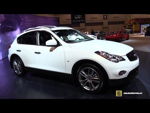 2015 Infiniti QX50 - Exterior and Interior Walkaround   2015 Chicago Auto Show