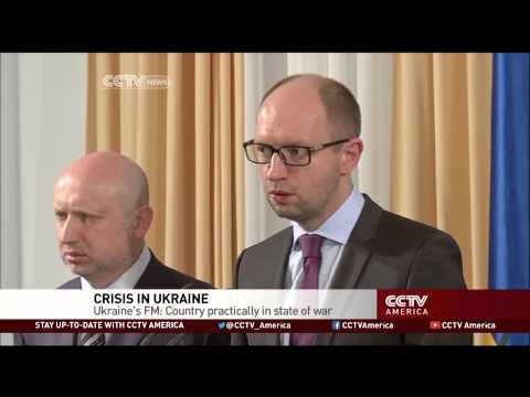 Ukraine's Foreign Minister: Country Practically in State of War with Russia