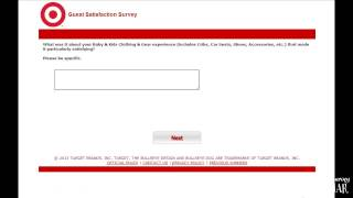 Targets Guest Satisfaction Feedback Questionnaire