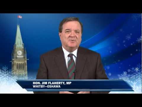 Jim Flaherty's Holiday Greeting