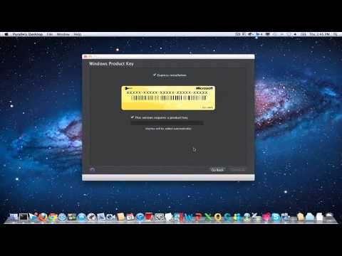 Install Windows 7 on Mac OS X using Parallels [HOW TO]