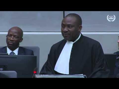 Affaire Gbagbo et Blé Goudé : déclarations liminaires de la Défense de M. Blé Goudé (intégrité 3)