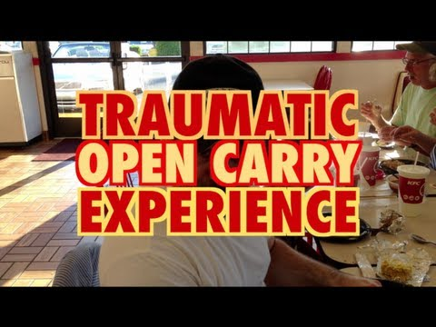 Traumatic Open Carry Experience