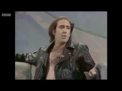 Nicolas Cage - Interview on Wogan (1990)