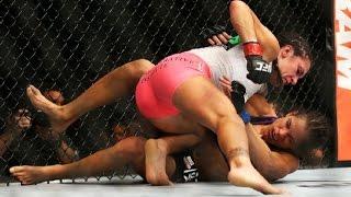 UFC 178: Cat Zingano versus Amanda Nunes Fight Video Staredown view on break.com tube online.