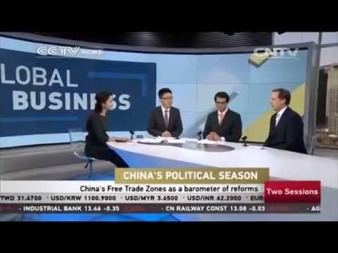 CCTV News, Biz Asia, Global Business (5 March 2015) - China Political Season