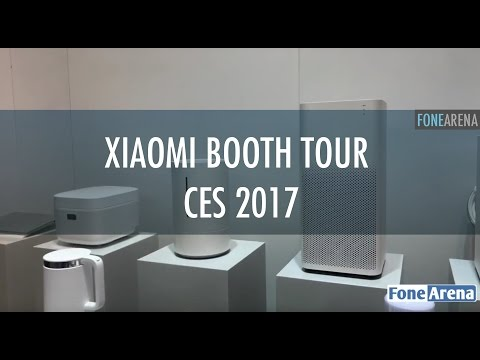 Xiaomi Booth Tour CES 2017 - Mi Smart Home & Mi Notebook Air