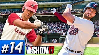 Lookouts Playoff Run | Twins Get Power Boost - MLB The Show 17 Franchise Ep.14