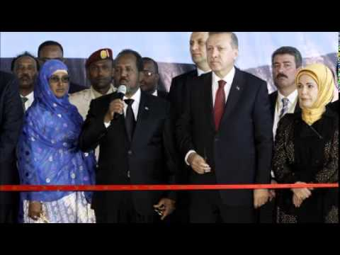 Turkish President Erdoğan launches projects in Somalia under tight security