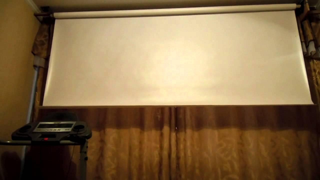 Из чего сделать экран для проектора