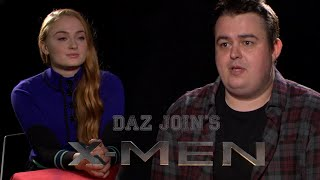Daz Wants To Join The X-Men (Ft Sophie Turner)