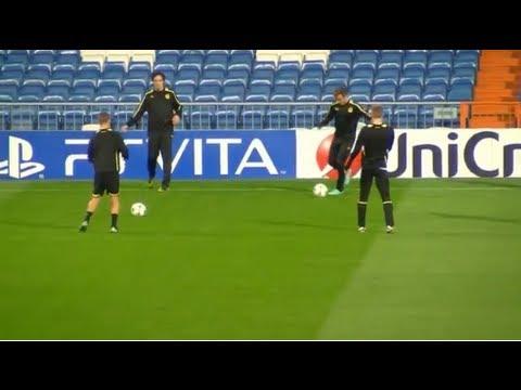 BVB Abschlusstraining vor dem Spiel gegen Real Madrid im Estadio Bernabéu Borussia Dortmund