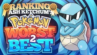 Ranking All of Ash Ketchum's Pokemon from Worst to Best