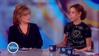 Aubrey Plaza talks producing movies, picture with Donald Trump & more | The View