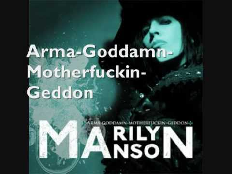 TOP 10 Marilyn Manson songs