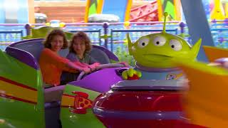 Toy Story Land Attractions On-Ride Preview Footage   Disney's Hollywood Studios 2018